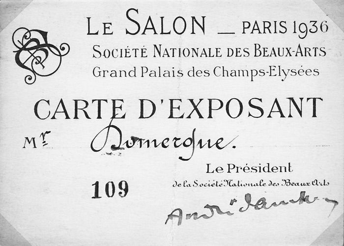 J-G Domergue Expositions Salons